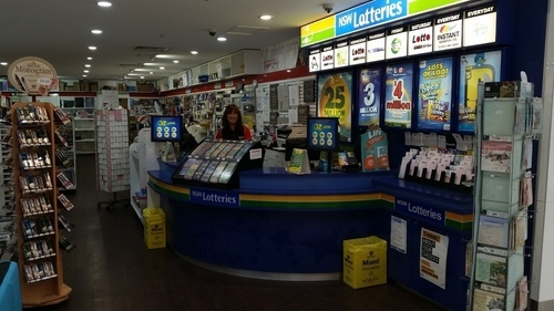 Newsagency and Lotto
